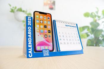 calendrier de table mobile