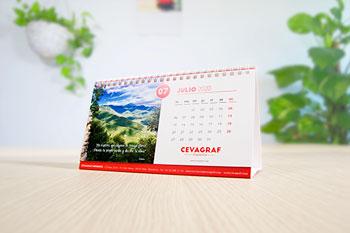 calendrier de table