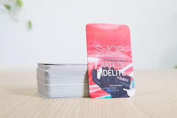 cartes pvc en plastique