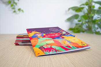imprimer magazine agrafe