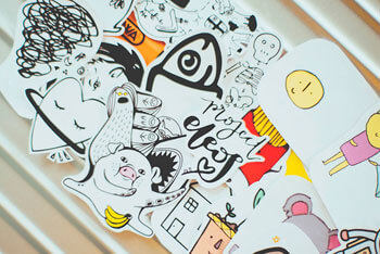 Étiquettes et Stickers